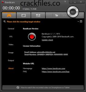 Bandicam 4.5.8.1673 Crack + Serial Key Full Version (2020)