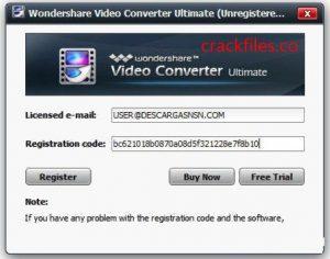 Wondershare Video Converter Ultimate 11.7.6 Crack + Registration Key