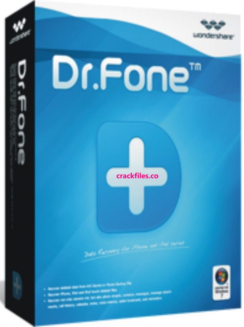 Wondershare Dr.Fone 10.5.0 Crack & Keygen Free Download (2020)
