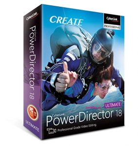 CyberLink PowerDirector 18.0.2725.0 Crack & Activation Key 2020