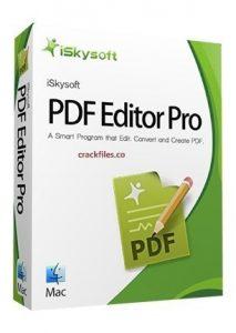 iSkysoft PDF Editor 6.4.2 Crack Plus Registration Key Full Version [2020]