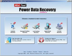 MiniTool Power Data Recovery 9.0 Crack & Keygen Free Download 2020