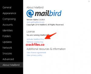 Mailbird Pro 2.8.1.0 Crack Plus Keygen Free Download [2020]